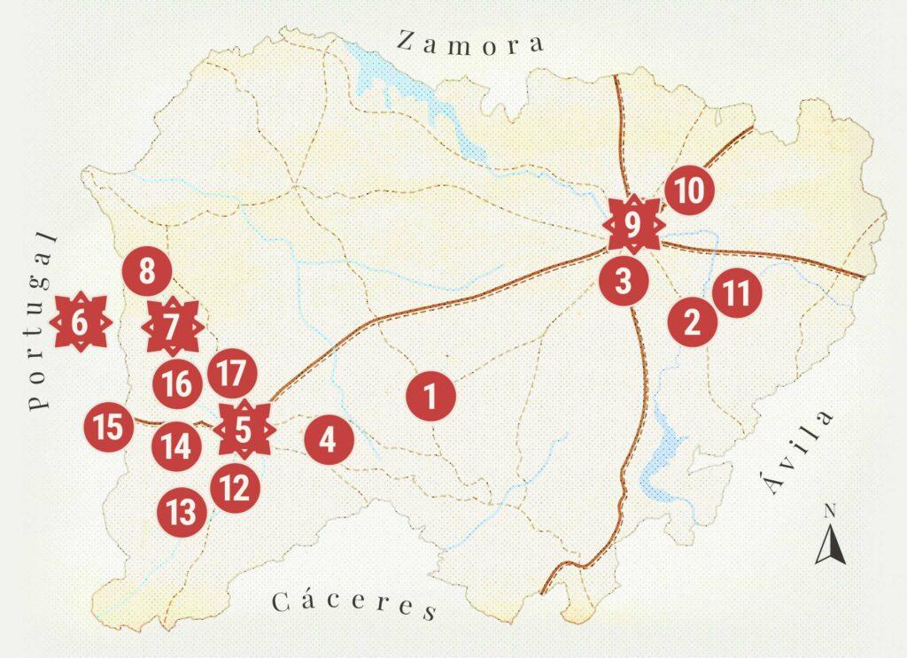 Mapa salamanca Napoleonica movil 3