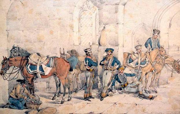 El combate de  Gallegos de Argañán