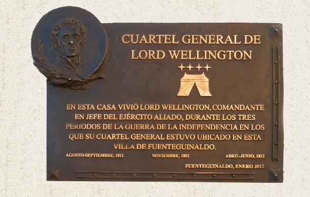 Fuenteguinaldo: cuartel general de Lord Wellington