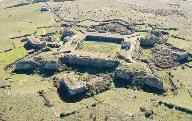 La destrucción del Real Fuerte de la Concepción