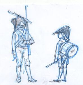 soldado y tambor
