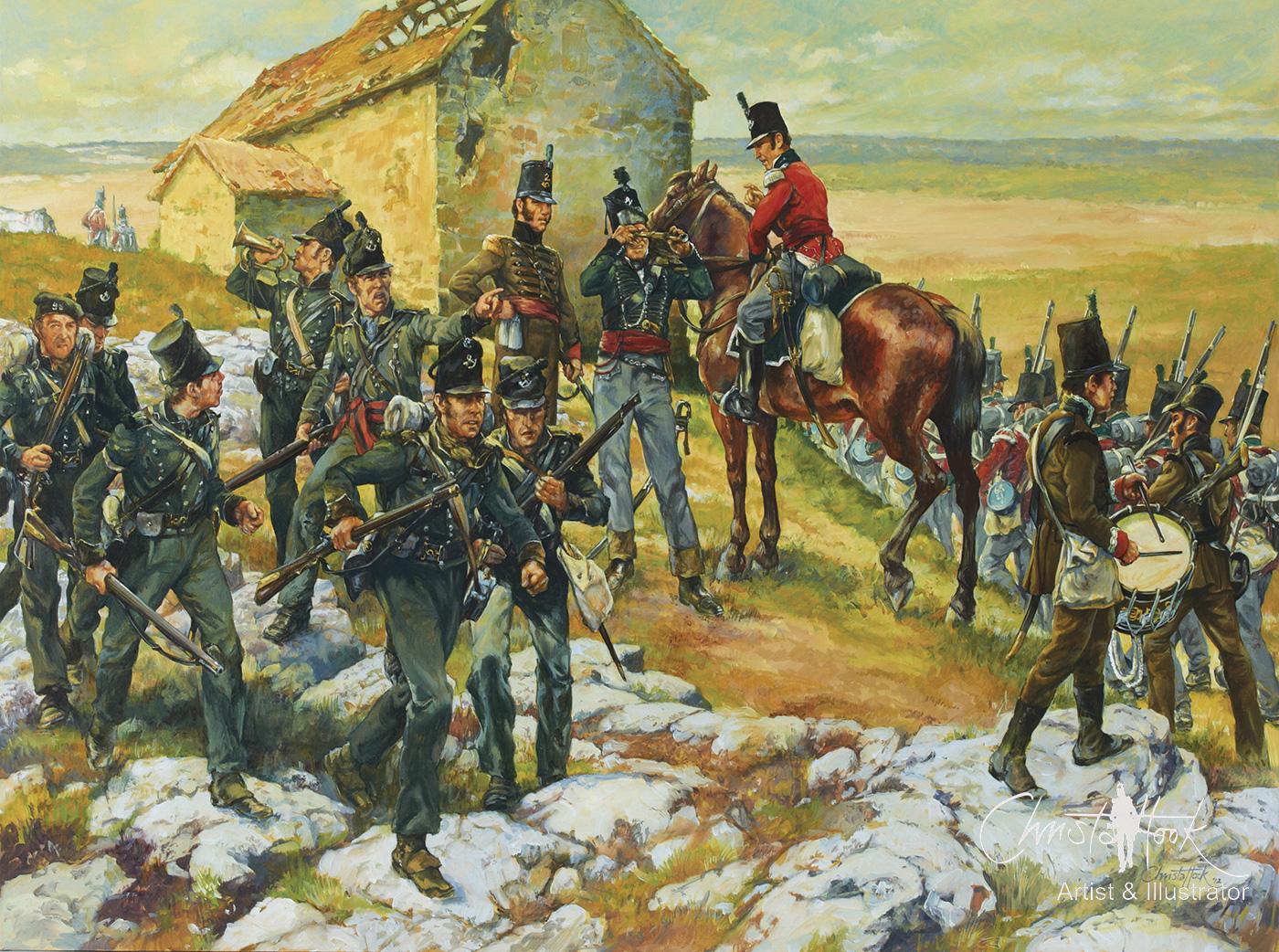 Salamanca Skirmish